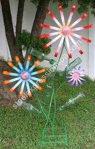 Coke Flower or Wine bottle Flower