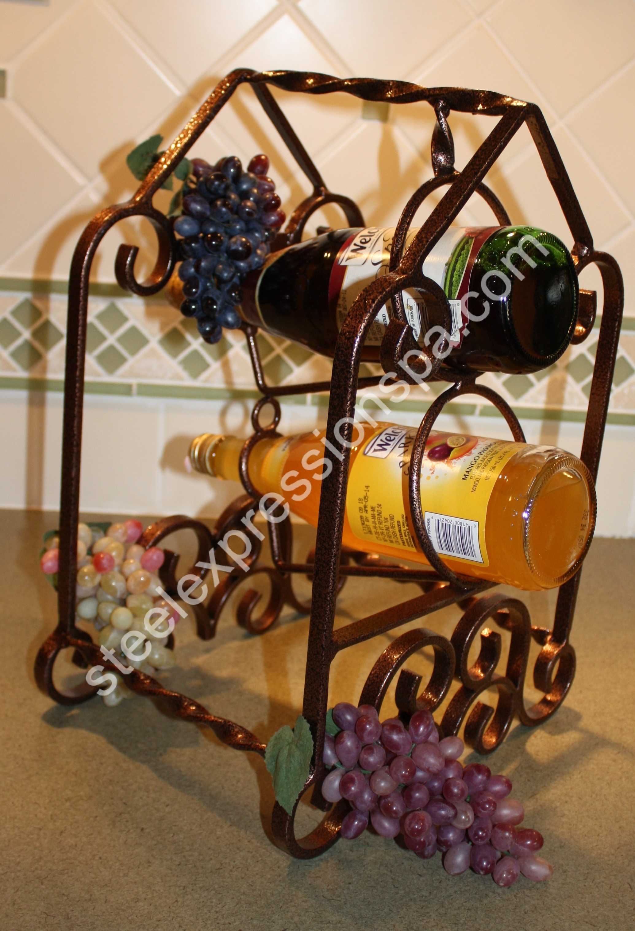 small archives product central top table rack iron barrel coast wine racks creations bottle category