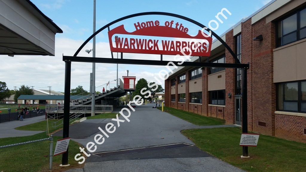 Arch for the Warwick High School