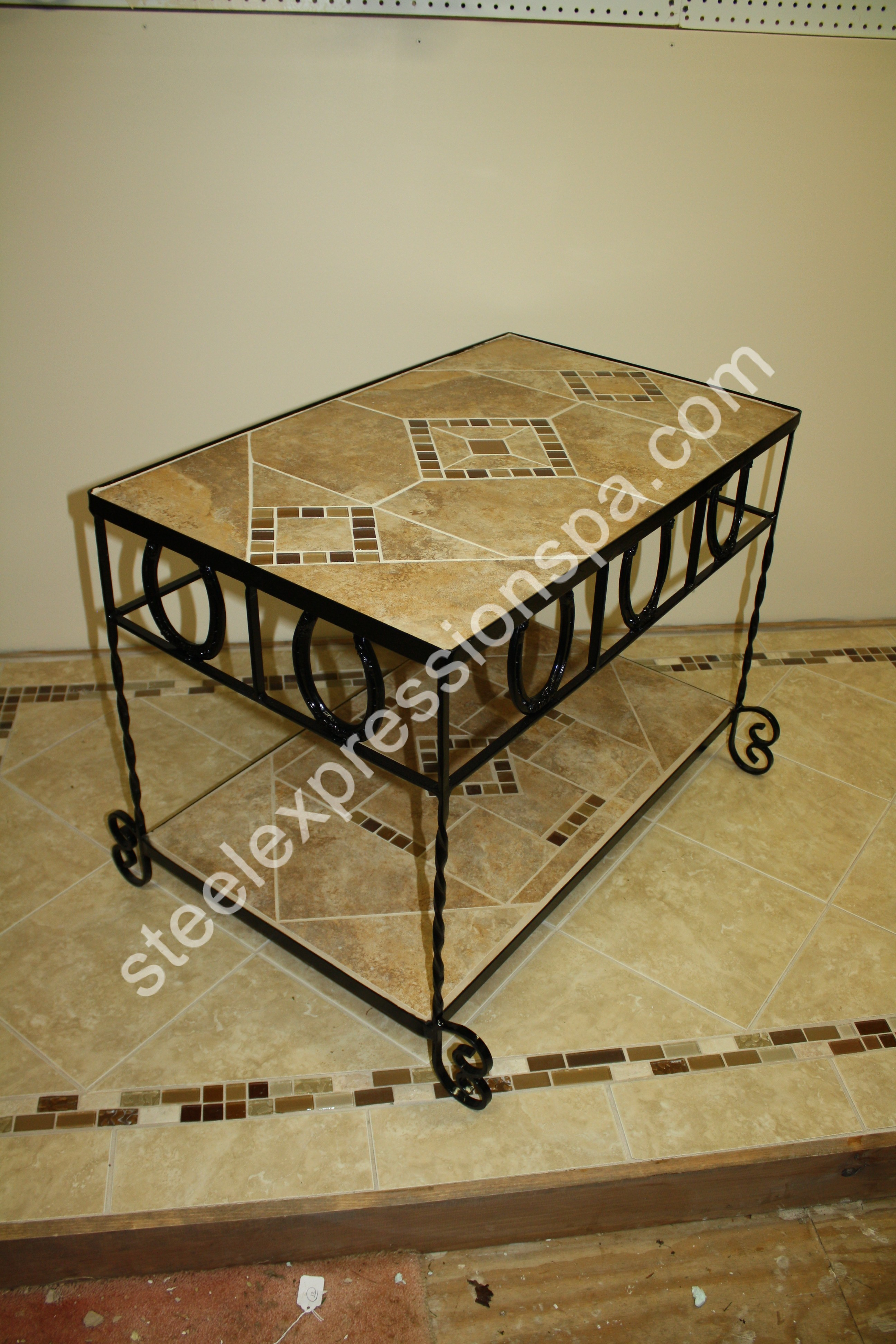 Custom Wrought Iron Coffee Tables Steel Expressions Lancaster