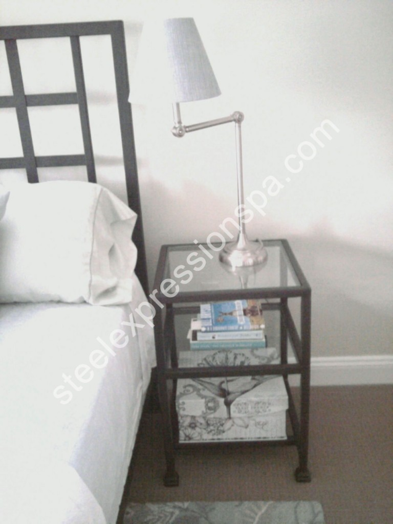 Wrought Iron Night Stands 0484